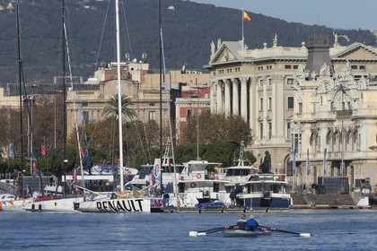 11 12 2014, Barcelona (ESP), Barcelona World Race 2014-15, The docks