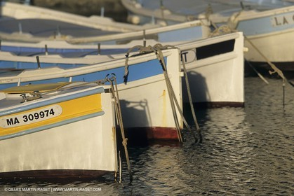 Marseille (Fra, 13) - Local fishing boats