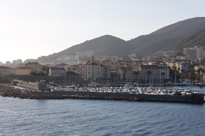 16 02 2012 - Ajaccio (FRA, Corse) -  La Méridionale shipping company- Piana at Ajaccio