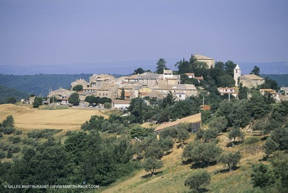 France, Provence, Luberon, Entrevennes