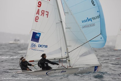 20 04 2008 - Hyères (FRA,83) - Hyères Olympic Week - Day 1.