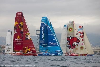 31 12 2010 - Barcelona (ESP) - Barcelona World Race 2010l - Start