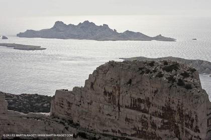 10 03 2009 - Marseille (FRA, 13) - Les Calanques - Massif de Marseilleveyre - Rocher des Goudes