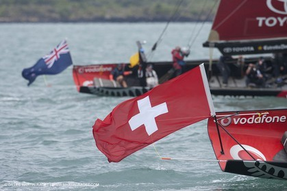 14 02 2009 - Auckland (NZL) -  Louis Vuitton Pacific Series -  Racing Day 14 - Challenger final