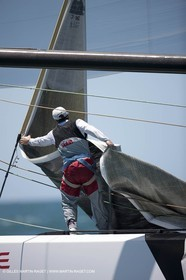 21 01 2009 - Auckland (NZL) -  Louis Vuitton Pacific Series - BMW ORACLE Racing - Training