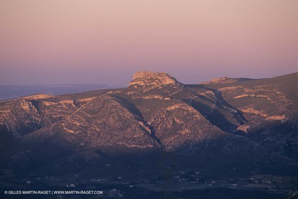France, Provence, Collines de Pagnol, Aubagne surrounds, Garlaban mountain