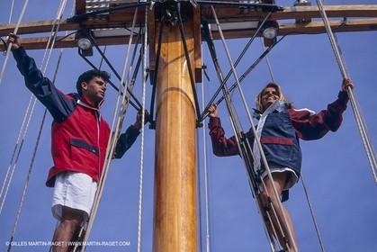 Sailing, cruising, people