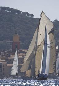 Sailing, Classic yachts, Voiles de Saint-Tropez 2006