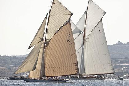 27 09 2011 - Saint Tropez (FRA, 83) - Voiles de Saint Tropez - Yachts classiques - Dayr 1