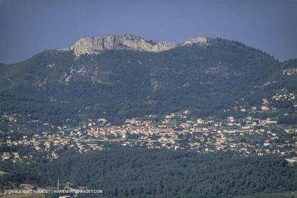 France, Provence, Pays d'Aubagne, collines de Marcel Pagnol, Cadolive