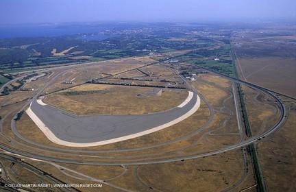 Miramas, car tyres testing race track