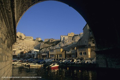 France, Provence, Marseille, quartiers, Vallon des Auffes