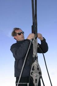 Orange II - Trophée Jules Verne 2004 - Jacques Caraes Jacques Caraes