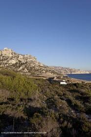 Décember 2009 - Marseille (FRA) - Les Calanques - Calanque de Marseilleveyre