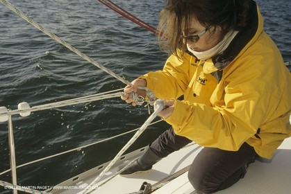 Sailing, Cruising, technique, Boathandling, Sailing School