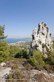 10 09 2009 - Marseille (FRA, 13) - Les Calanques - Massif de Marseilleveyre - Vallon des Aiguilles