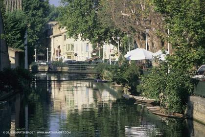 Franfe, Provence, L'isle sur la Sorgue
