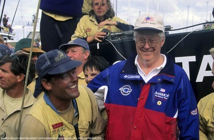 America's cup - San Diego 1995  - Russell Coutts, Bill Koch