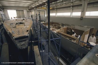 Sailing Super yachts, Wally Yachts, boat building