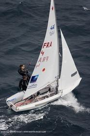 26 04 2007 - 2007 Semaine Olympique Française - Hyères (South of France) - Day 5 - Team France - 470 Femme - Petitjean-Douroux