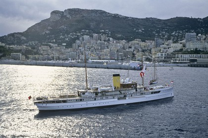 Classic Motor Yachts - Delphine at the Monaco Classic Week