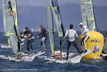 23 04 2015, Hyères (FRA,83), Sailing World Cup Hyères 2015