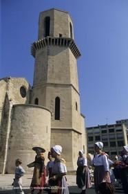 Marseille (FRA), fishermen fest for St Esteve anniversary
