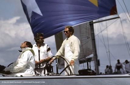 America's Cup, Fremantle 1987, New Zealand, Brad Butterworth, Chris Dickson