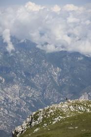 08 07 2008 - Malcesine (ITA, Lake Garda) - RC 44 World Championsship - Malcesine SLAM Cup 08 - opening Press conference at Monte Baldo