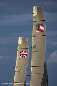 04 08 2010 - Cowes (UK, IOW) - The 1851 Cup -  BMW ORACLE Racing - Day 2.
