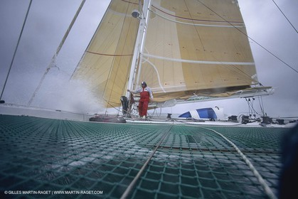 Yacht Racing, Multihull, ORMA 60, Philippe Poupon, Fleury Michon