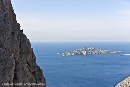 30 04 2009 - Marseille (FRA, 13) - Les Calanques - La Grande Candelle - Arrête de Marseille