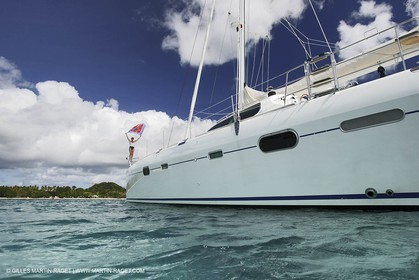 Catamaran - Privilege 585 - Go Free - Caribeans - Martinique