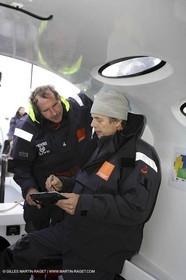 Orange II  - 2005 Jules Verne Trophy - Training in Bay of Biscay -Caraes-Nilson-