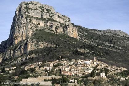 France - Côte d'Azur - Villages perchés des Alpes Maritimes - Saint Jeannet