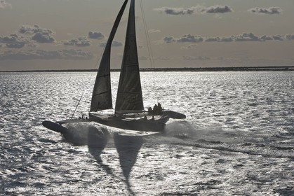 03 10 2008 - Fos   mer (FRA, 13) - L'Hydroptère - Speed record attempt