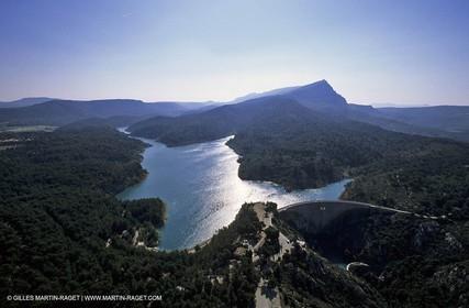 Aix en Provence surroundings, Bimont Lake