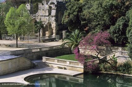 Nîmes - Fountains garden