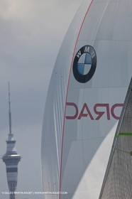 23 01 2009 - Auckland (NZL) -  Louis Vuitton Pacific Series - BMW ORACLE Racing-Tuning up onboard Emirates Team New Zealand yacht