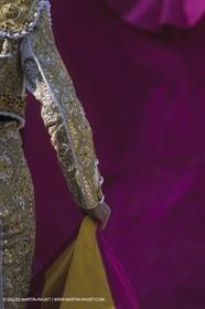 France, Provence, Traditions, Tauromachie, bull fights, détail costumes, habit de lumière