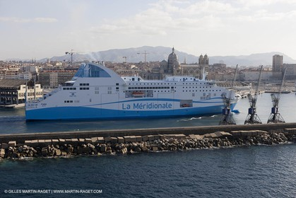 14 01 2012 - Marseille (FRA,13) - La Meridionale shipping company - the Piana off Marseille and the Calanques