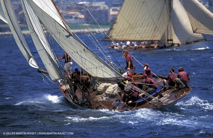 Tigris - Classic yachts - 2003 Voiles du Vieux Port
