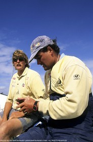 America's cup - San Diego 1995 - Team NZ - Peter Blake, Russell Coutts