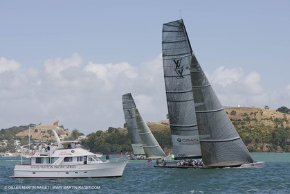 03 02 2009 - Auckland (NZL) -  Louis Vuitton Pacific Series -  Racing Day 4 - Round Robin 1