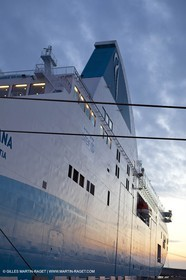 01-30-12   Marseilles (FRA,13) Bastia (FRA,Corsica)   Launching cruising trip and Christening ceremony of PIANA, last ferry ship from La Meridionale