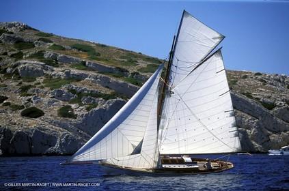Lulu - Classic yachts - 2003 Voiles du Vieux Port