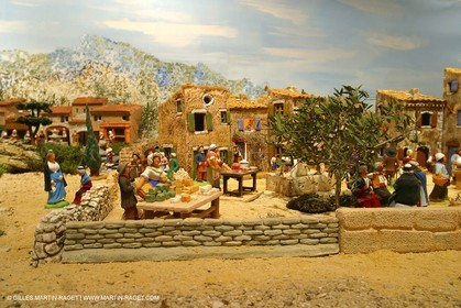 Great crib from les Saintes Maries de la mer (FRA, 13) for Christmas, December 2010