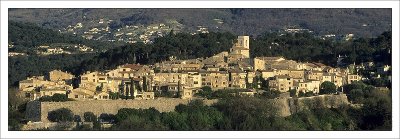 ..SAINT-PAUL DE VENCE..Product: in house made quality print on 8 ultrachome colors Epson ink Jet printer...Available sizes: .. 20x 60 cm.. 33 x 95 cm.. 52 x 150 cm..Available papers: .. Standard 250 gr glossy paper print, black streak, white margin, no signature.. Top quality glossy 290 gr. paper, black streak, white margin, checked and signed by the author.. Fine Art print (signed, numbered, stamped, registered) on demand.. Other supports (Canvas, Acrylic, Metal) on demand..Packaging: cylindric reinforced tube..Shipping options: regular mail or Shipping company..Click on the basket icon to select your options and start the online ordering process