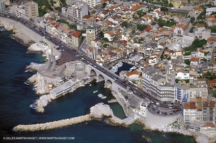Marseille -  Cornice - Vallon des Auffes
