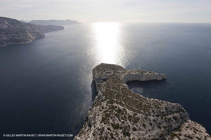 10 03 2009 - Marseille (FRA, 13) - Calanques - Morgiou cape -  Calanque de la Triperie